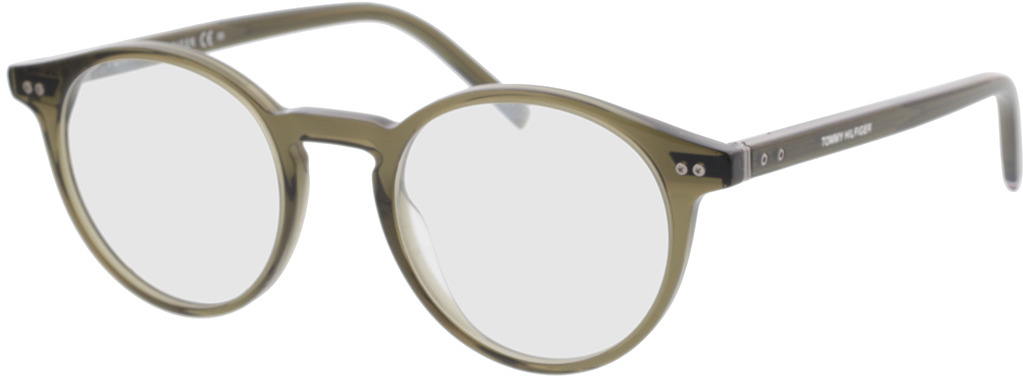Picture of glasses model Tommy Hilfiger TH 1813 3Y5 49-21 in angle 330
