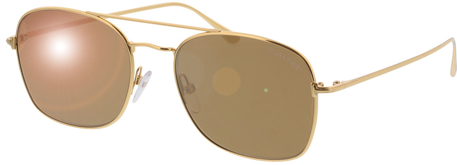 Picture of glasses model Tom Ford Luca FT0650/S 30G in angle 330