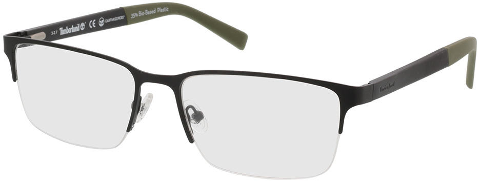 Picture of glasses model Timberland TB1585 002 58-18 in angle 330
