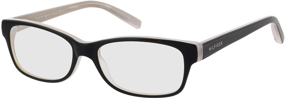 Picture of glasses model Tommy Hilfiger TH 1018 HDA in angle 330
