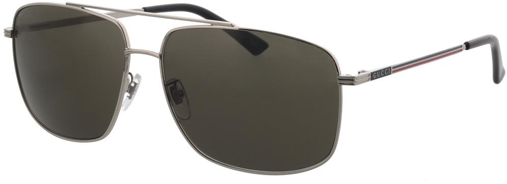 Picture of glasses model Gucci GG0836SK-001 63-14 in angle 330