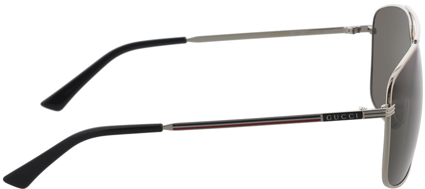 Picture of glasses model Gucci GG0836SK-001 63-14 in angle 90
