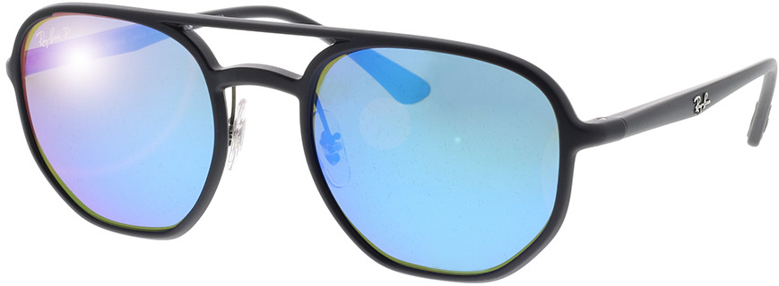 Picture of glasses model Ray-Ban Chromance RB4321CH 601SA1 53-21 in angle 330