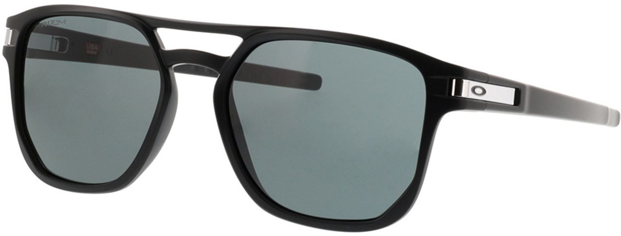 Picture of glasses model Oakley Latch Beta OO9436 01 54-18 in angle 330