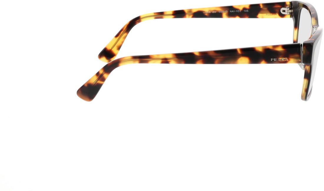 Picture of glasses model Prada PR 15VV NAI1O1 55-17 in angle 90