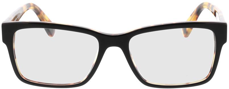 Picture of glasses model Prada PR 15VV NAI1O1 55-17 in angle 0