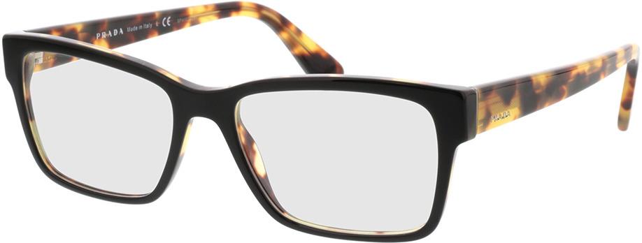 Picture of glasses model Prada PR 15VV NAI1O1 55-17 in angle 330