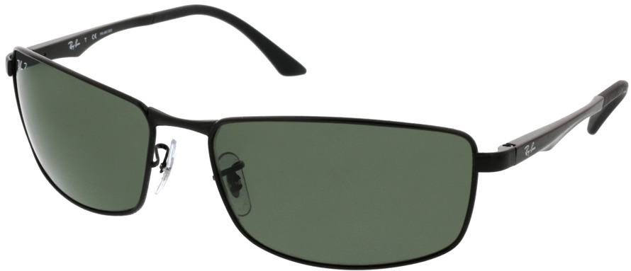 Picture of glasses model Ray-Ban RB3498 002/9A 64-17 in angle 330