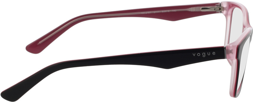 Picture of glasses model Vogue VO2787 2771 53-16 in angle 90