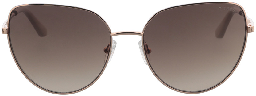 Picture of glasses model Guess GU7784 028F 59-17 in angle 0