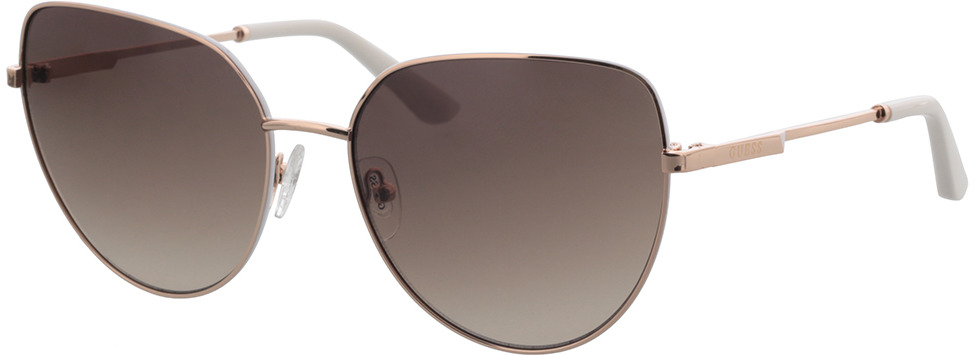 Picture of glasses model Guess GU7784 028F 59-17 in angle 330