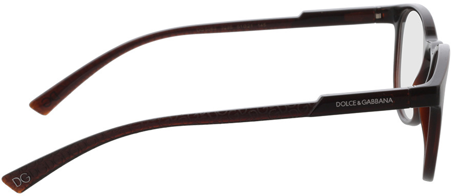 Picture of glasses model Dolce&Gabbana DG5063 3295 51-21 in angle 90