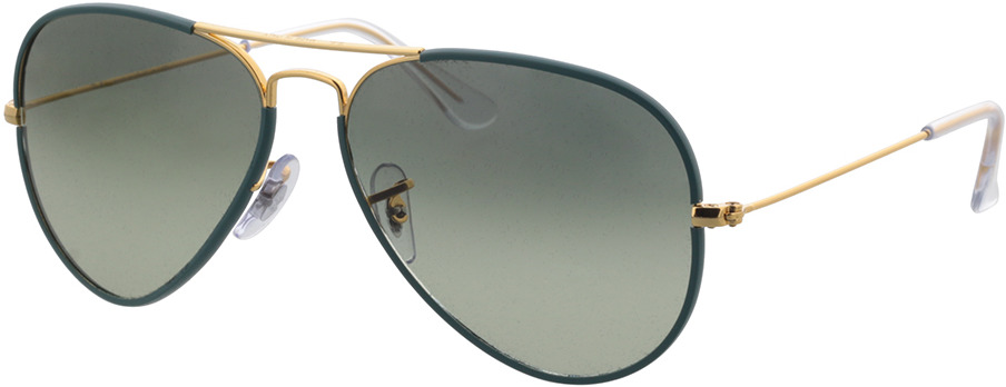 Picture of glasses model Ray-Ban RB3025JM 9196BH 58-14 in angle 330