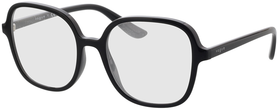 Picture of glasses model Vogue VO5373 W44 53-18 in angle 330