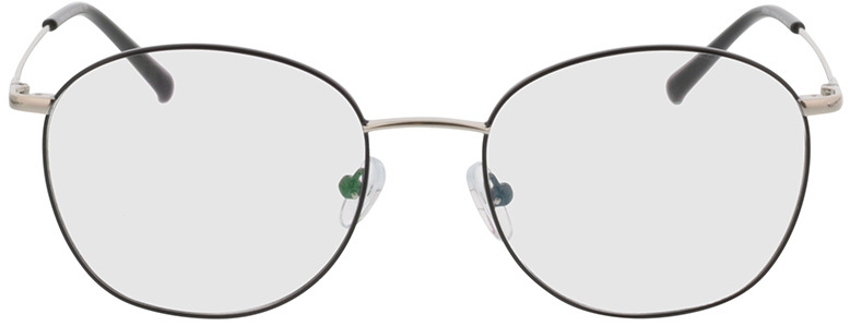 Picture of glasses model Asosa-schwarz/silber in angle 0