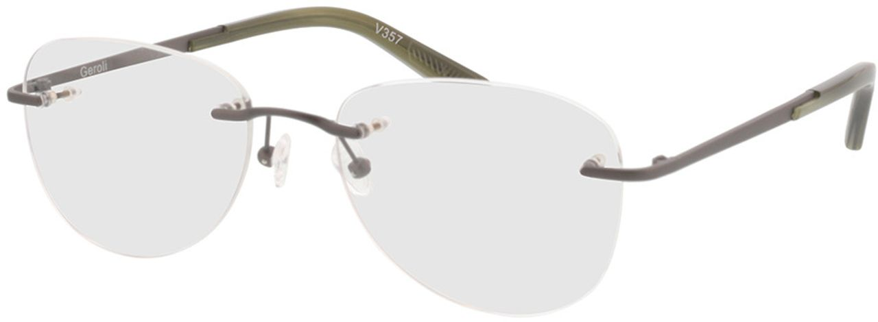 Picture of glasses model Geroli-anthrazit in angle 330