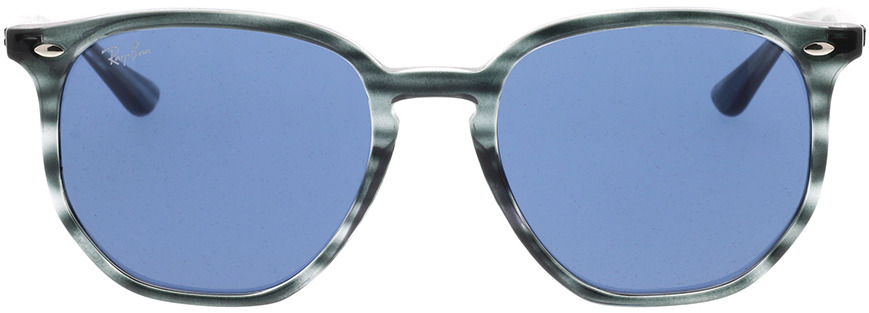 Picture of glasses model Ray-Ban RB4306 643280 54-19 in angle 0