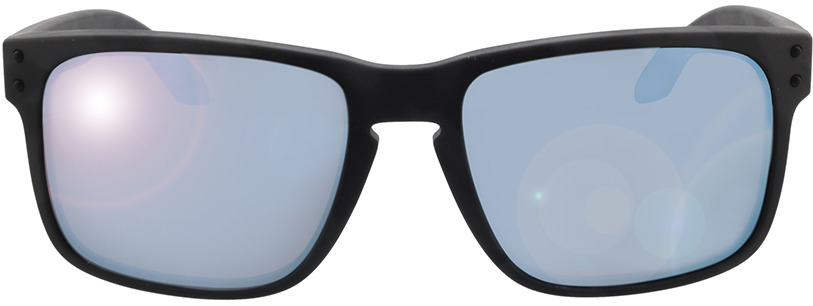 Picture of glasses model Oakley OO9102 9102T9 55-18 in angle 0