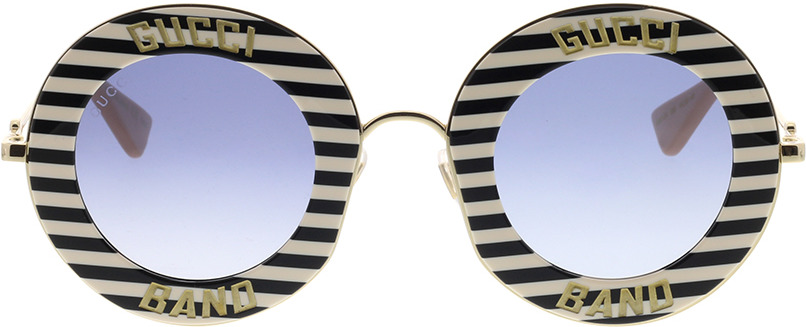 Picture of glasses model Gucci GG0113S-008 44-30 in angle 0