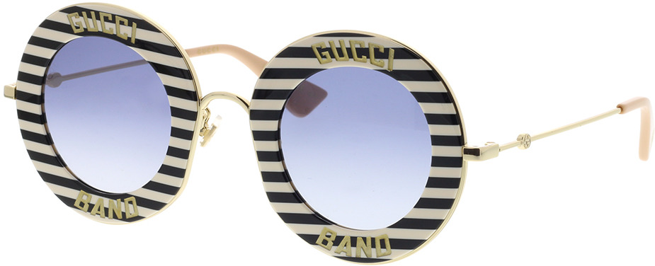 Picture of glasses model Gucci GG0113S-008 44-30 in angle 330