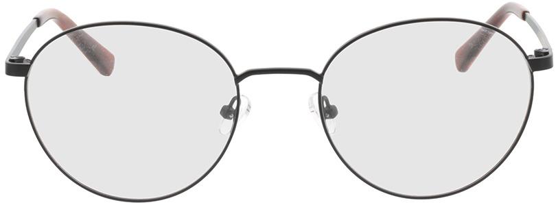 Picture of glasses model Rhea-schwarz/orange horn in angle 0