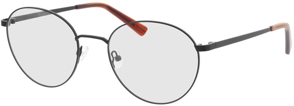 Picture of glasses model Rhea-schwarz/orange horn in angle 330