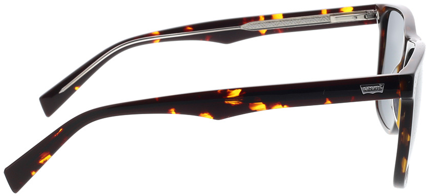 Picture of glasses model Levi's LV 5004/S 086 57-16 in angle 90