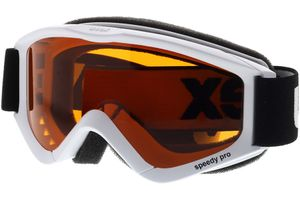 Skibrille Speedy Pro White