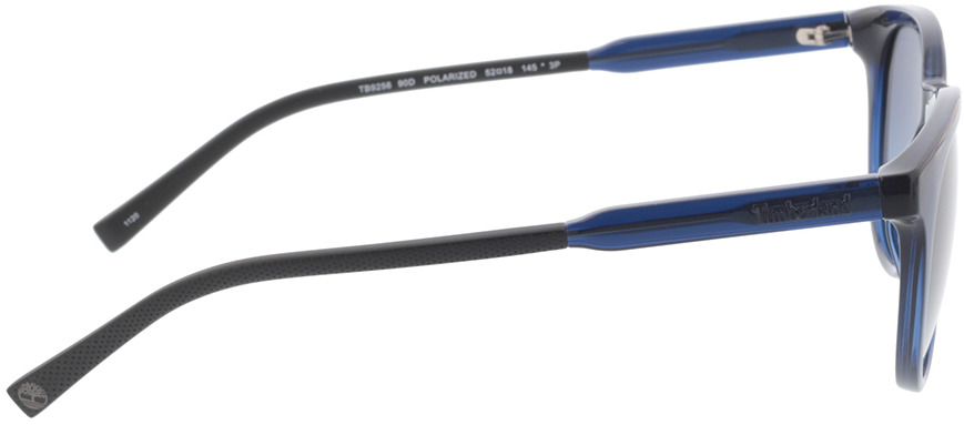 Picture of glasses model Timberland TB 9256 90D 52-18 in angle 90