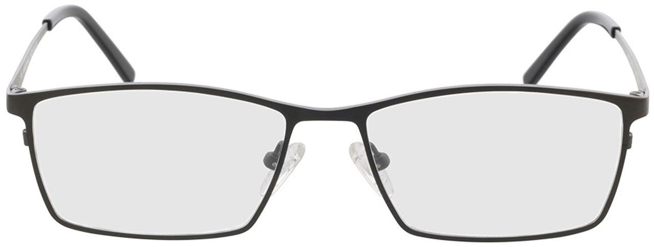 Picture of glasses model Prag gun/black in angle 0