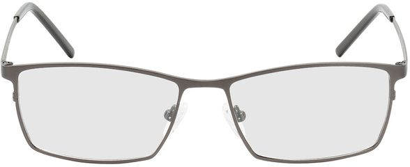 Picture of glasses model Prag-gun-black in angle 0