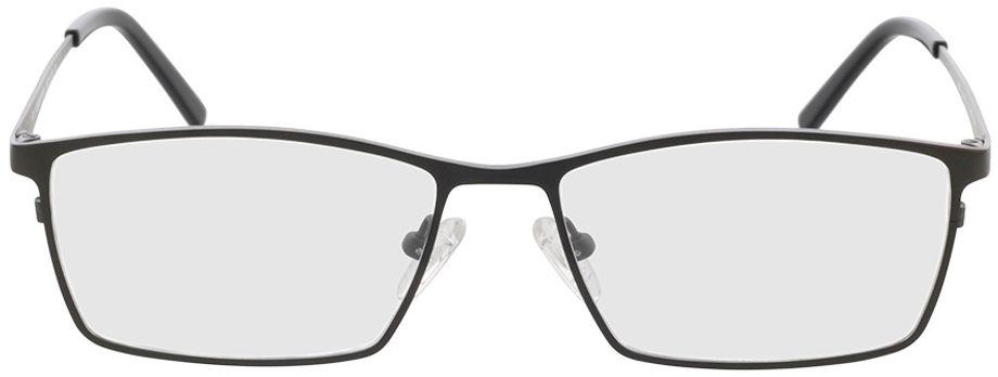 Picture of glasses model Prag-anthrazit/schwarz in angle 0