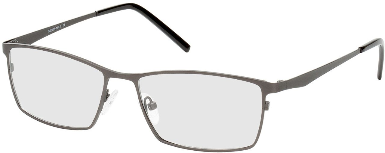 Picture of glasses model Prag-gun-black in angle 330