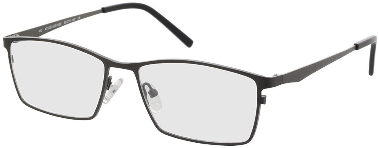 Picture of glasses model Prag gun/black in angle 330
