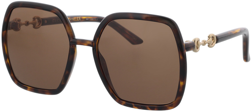 Picture of glasses model Gucci GG0890S-002 55-19 in angle 330