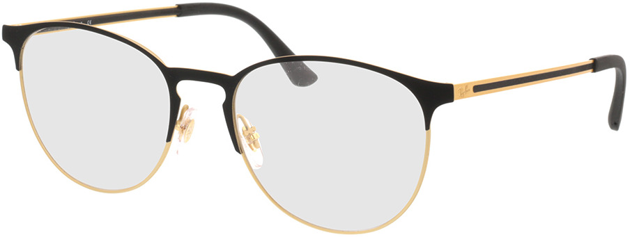 Picture of glasses model Ray-Ban RX6375 3051 53-18 in angle 330
