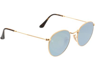 Brille Ray-Ban Round Metal RB3447N 001/30 50-21