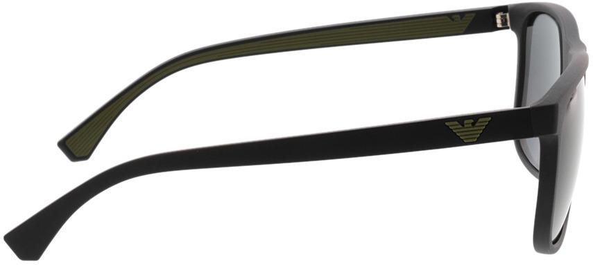 Picture of glasses model Emporio Armani EA4129 504287 56-19 in angle 90