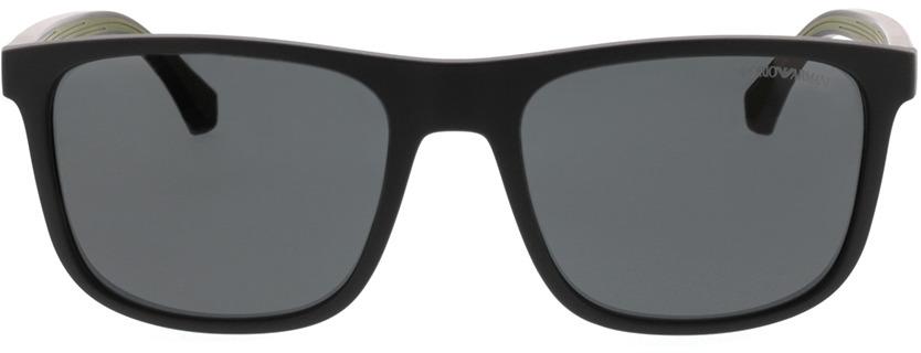 Picture of glasses model Emporio Armani EA4129 504287 56-19 in angle 0