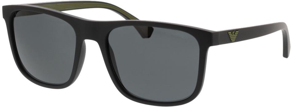 Picture of glasses model Emporio Armani EA4129 504287 56-19 in angle 330
