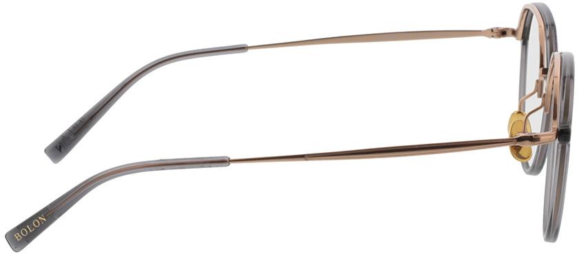 Picture of glasses model Bolon BT6003 B13 50-19 in angle 90