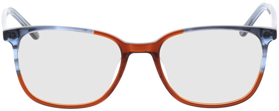 Picture of glasses model Licata-grey-mottled-brown in angle 0