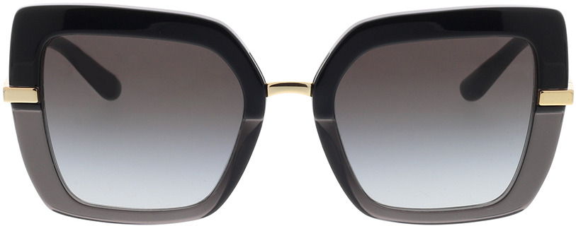 Picture of glasses model Dolce&Gabbana DG4373 32468G 52-21 in angle 0