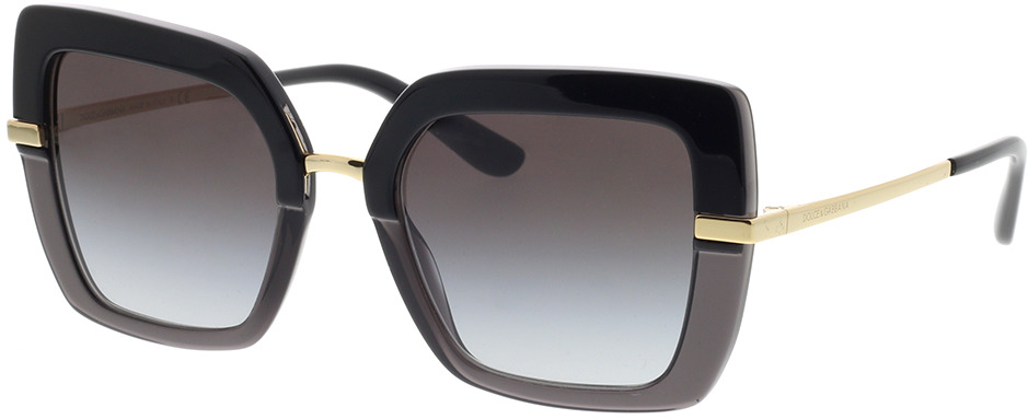 Picture of glasses model Dolce&Gabbana DG4373 32468G 52-21 in angle 330