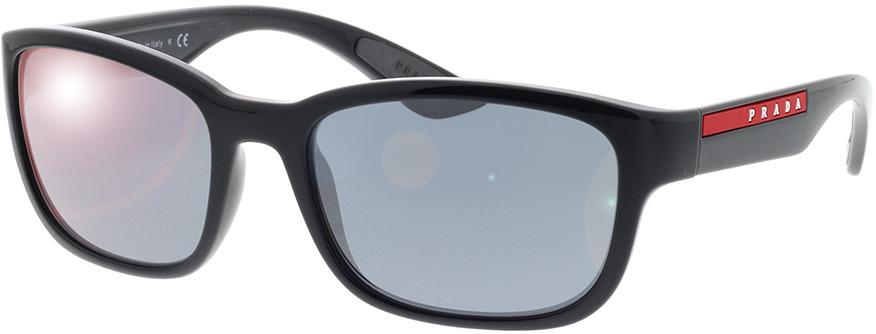 Picture of glasses model Prada Linea Rossa PS 05VS 1AB5L0 57-19 in angle 330