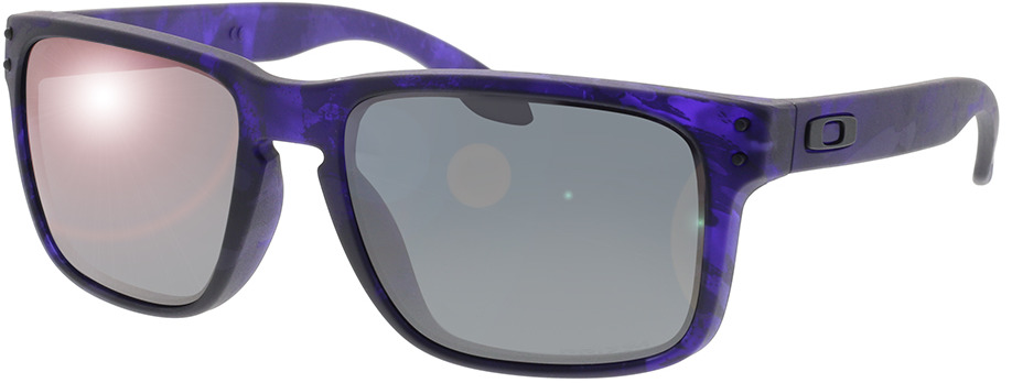 Picture of glasses model Oakley Holbrook OO9102 O4 55-18 in angle 330