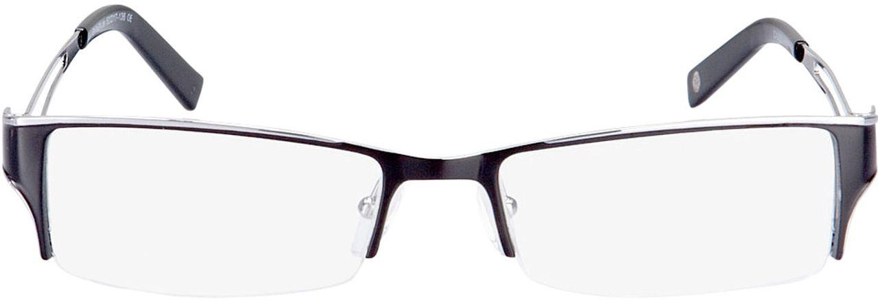 Picture of glasses model Lesko black/silver in angle 0