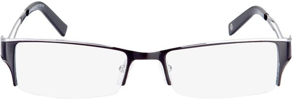 Picture of glasses model Lesko-black-silver in angle 0