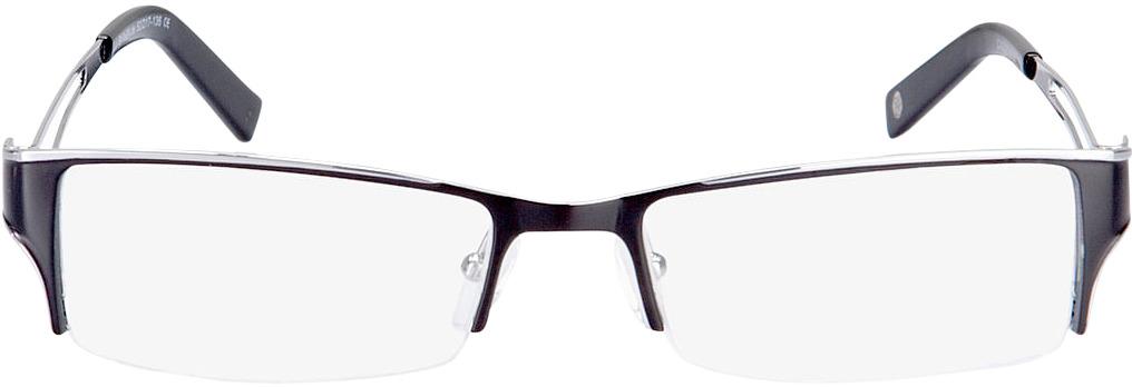 Picture of glasses model Lesko zwart/zilver in angle 0