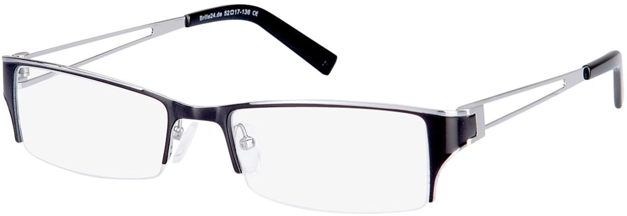 Picture of glasses model Lesko-black-silver in angle 330